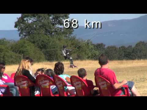 Kite mountainboard challenge 272 km in 24 h