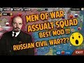 Russian Civil War? Hitler on Super Tank?  New Units? All in Men of War: Assault Squad [WC3 MOD]