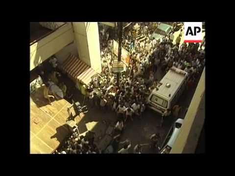 PHILIPPINES: MANILA: BOMB BLASTS
