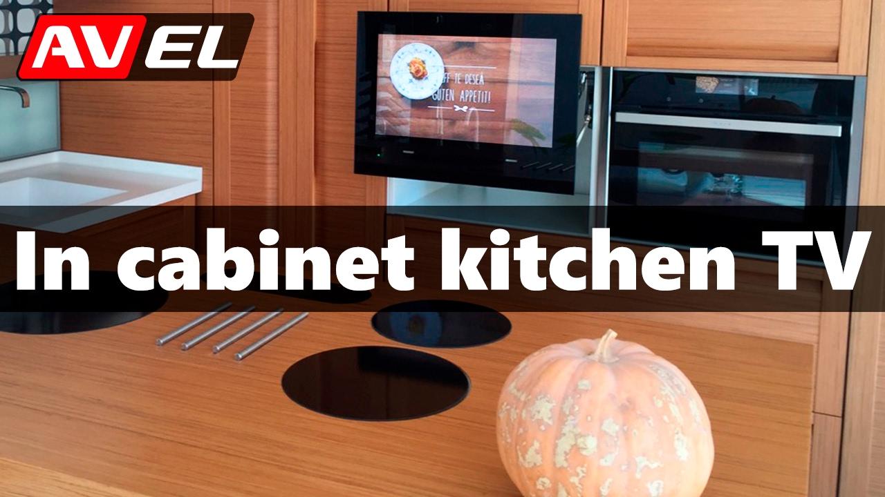 lternative to kitchen TV under cabinet - in cabinet ...