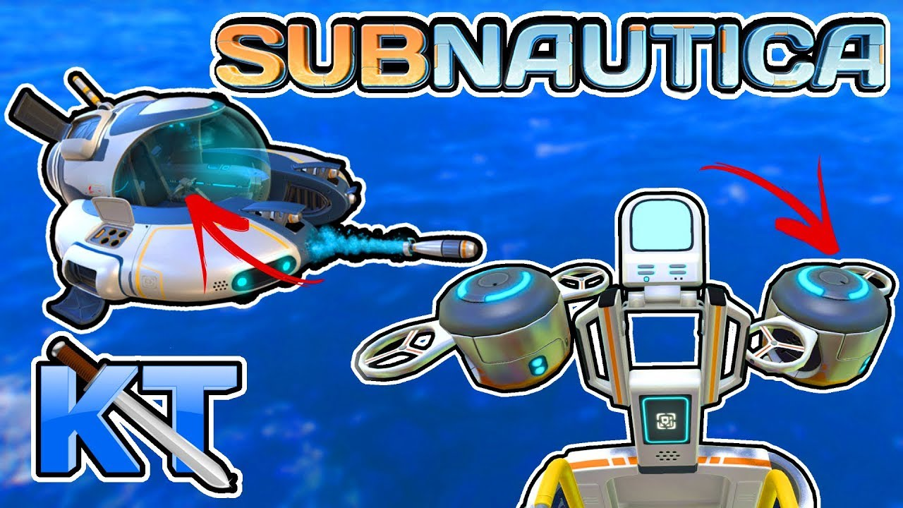How To Use Mobile Vehicle Bay Subnautica Ep 9 Youtube
