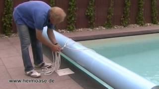 Repeat youtube video Schwimmbadbau Hamburg / Schweiz Poolabdeckung rollbar