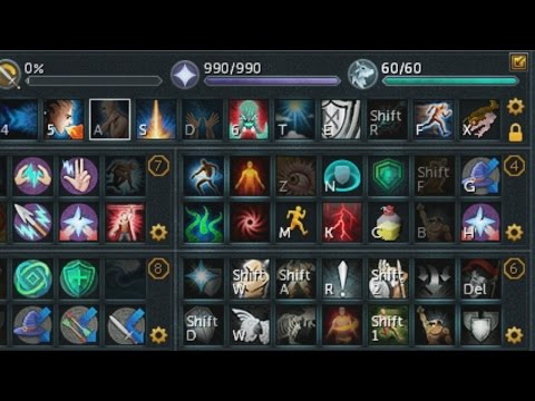 An In-Depth Look at my Multi Action Bar Interface (Runescape)