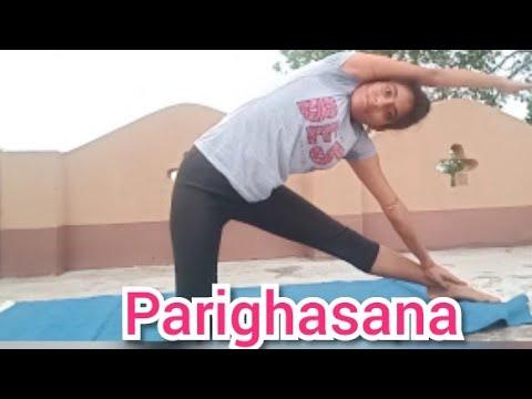 How To Do Parighasana.Gate Pose.Benefits and steps.