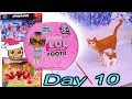 Day 10 ! LOL Surprise - Playmobil - Schleich Animals Christmas Advent Calendar - Cookie Swirl C