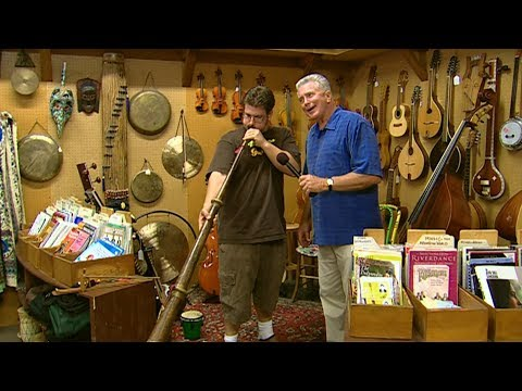 Visiting with Huell Howser: Folk Music Center