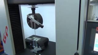 Разрывная машина GP 30 кН(Универсальная испытательная машина GP 30 кН в комплекте с навесным экстензометром базой измерения 8 мм с..., 2014-11-13T13:48:15.000Z)