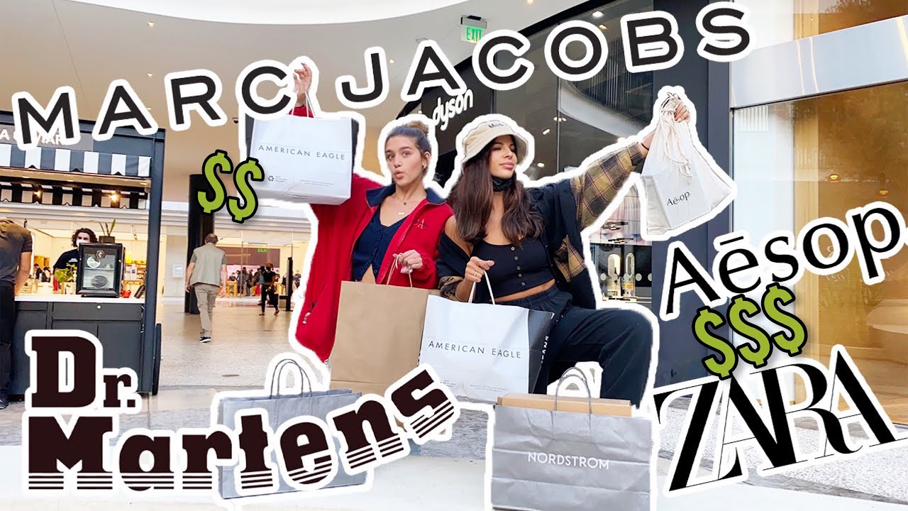 NO BUDGET Shopping Spree at the BIGGEST mall in LA