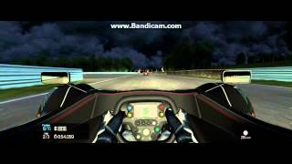 Project CARS (392) 21:9 3 Lap Night Race BAC Mono Connecticut Hill Short