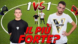 Pierino VS Enry Lazza Chi è il più FORTE di YouTube ITALIA 1 VS 1 FOOTBALL CHALLENGE