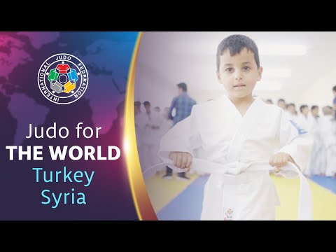 Judo For The World - Turkey-Syria border refugee camp