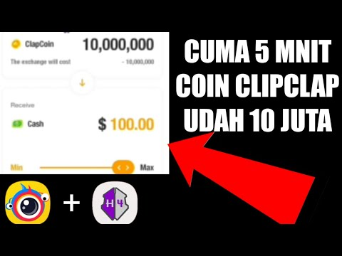🔵prank Nuyul Koin ClipClaps 10jt  | Aplikasi Penghasil Dolar