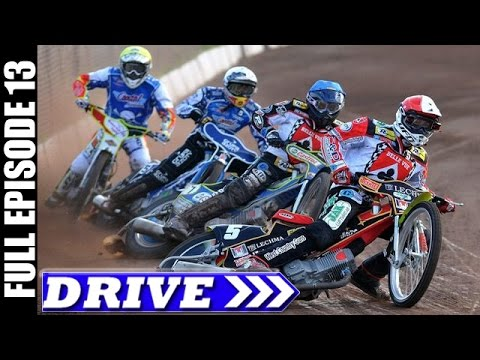 DRIVE TV Show | Speedway Bike race in Stockholm, Sweden & More | Full Episode # 13 (HD)
