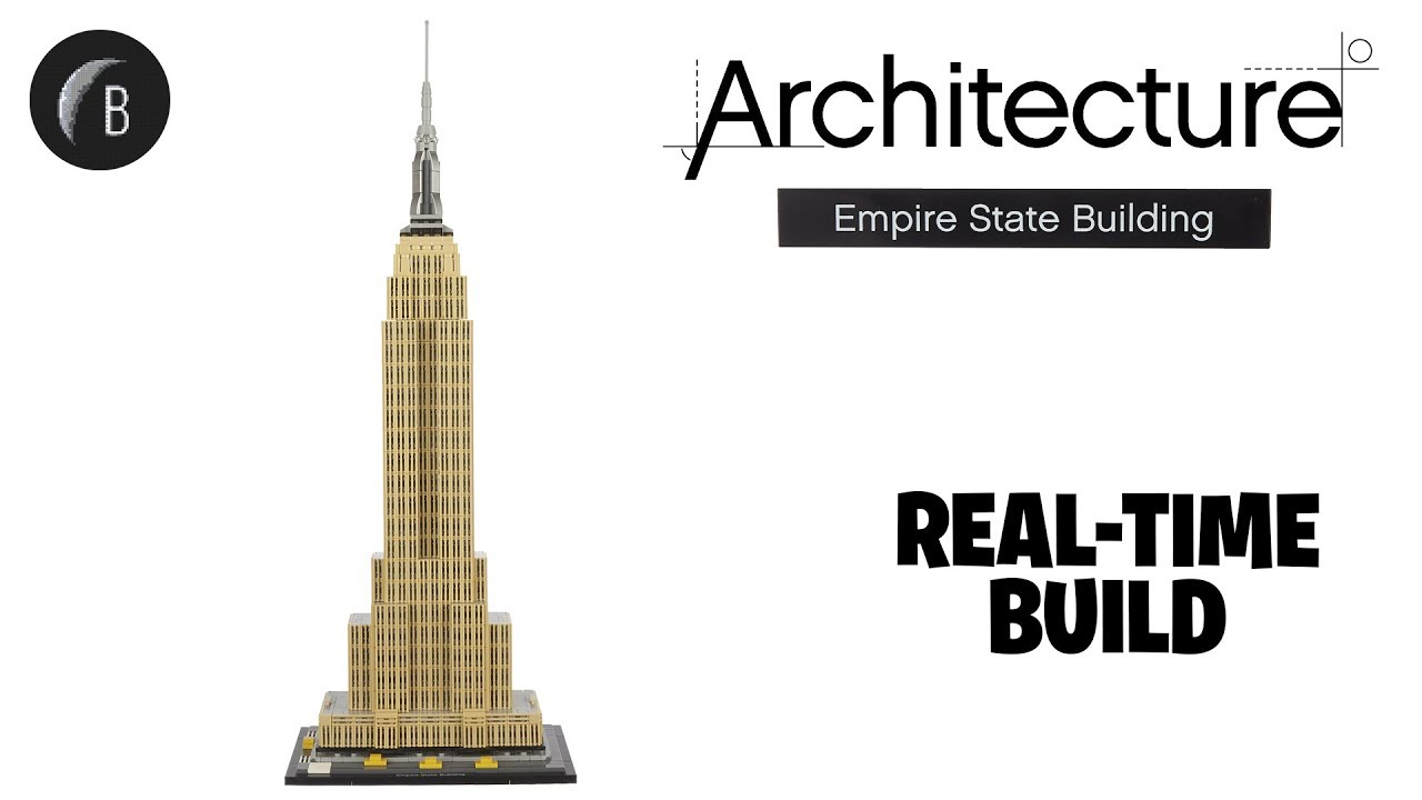 Lego 21046 Empire State Building Architecture Speed Build Review Youtube