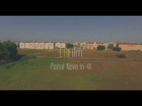 Pinhal Novo Aero View In 4k