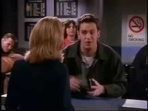 how did chandler and janice meet