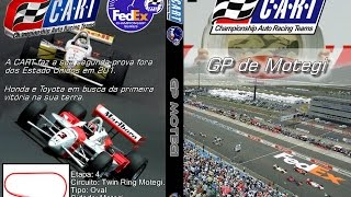 CART 2001 Fedex Championship Series - Round 4 - Twin Ring Motegi Firestone Firehawk 500K