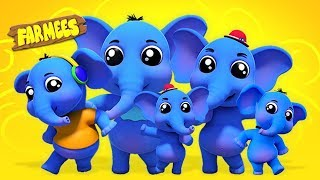 Elephant Finger Family | Nursery Rhymes And Songs for Babies | Videos for Kids