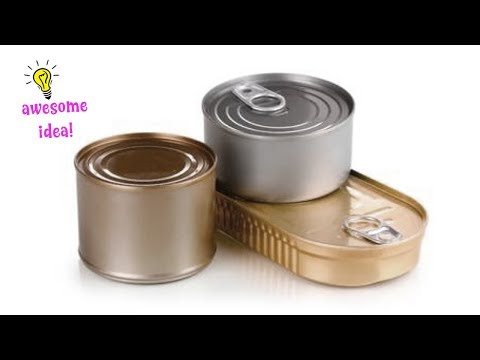 5 SMART WAYS IDEAS TO REPURPOSE TIN CAN INTO SOMETHING FUNTIONAL!! Best Reuse Idea