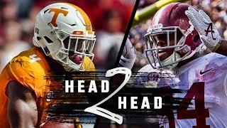 Head to Head: Alabama vs Tennessee