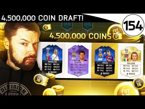 4,500,000 COIN FUT DRAFT! - FUT DRAFT TO GLORY #154