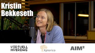 Virtuell Hverdag #33 - Kristin Bekkeseth @ AIM2NORTH 2019 - Trust building for technology (English)