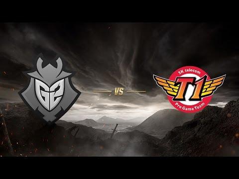 SK telecom T1 ( SKT ) vs G2 Esports ( G2 ) 4. Maç | MSI 2017 Finali
