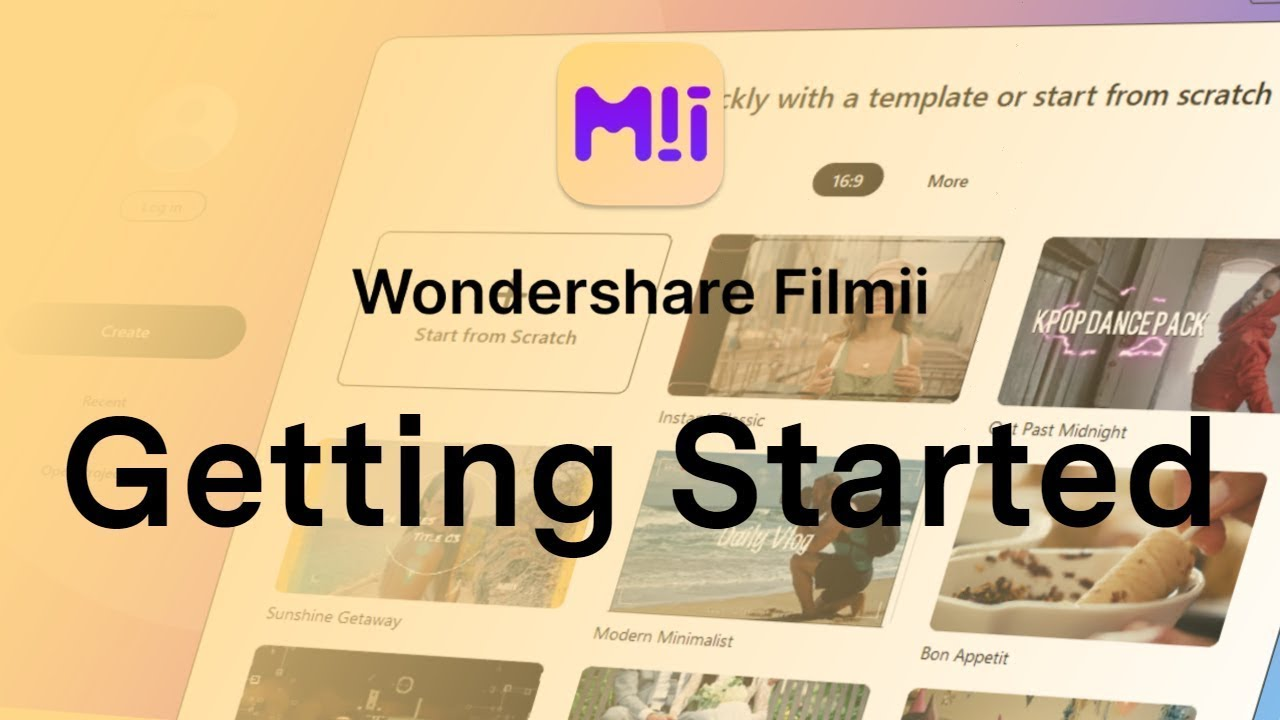 Download Getting Started with Wondershare Filmii | Updated Tutorial