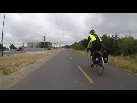 Cycling commute to work - San Jose to Sunnyvale, California