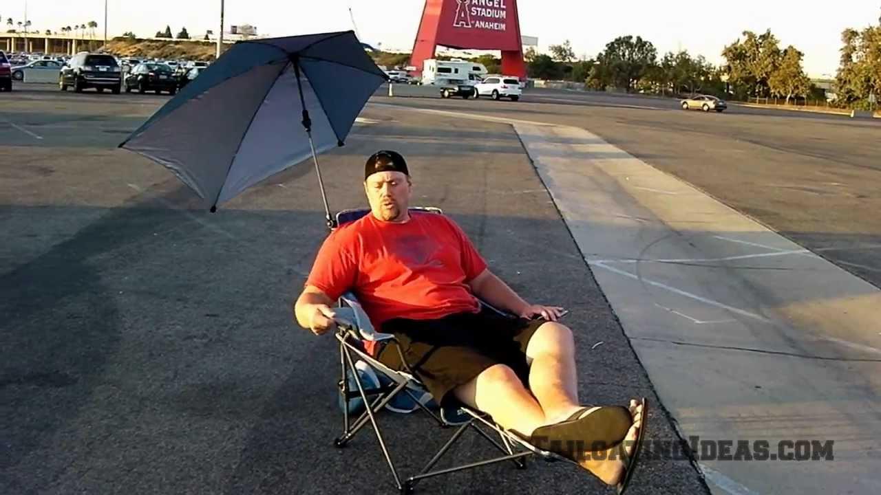 Super Brella Chair Exercise Ball Office Target Sportbrella Reclining Youtube