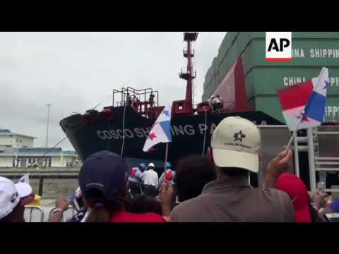 Panama Canal opens new US$5B locks
