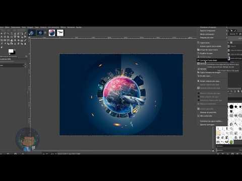 Tutorial Gimp   Efecto Planeta thumbnail