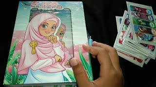Review Buku Diary Hijab Sambil Nempelin Pembatas Buku Baru || Sticky Note Stick Marker