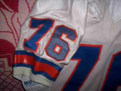 Introduction to Sports Memorabilia-Ken Lanier 1989 Denver Broncos Game-Worn Road Jersey