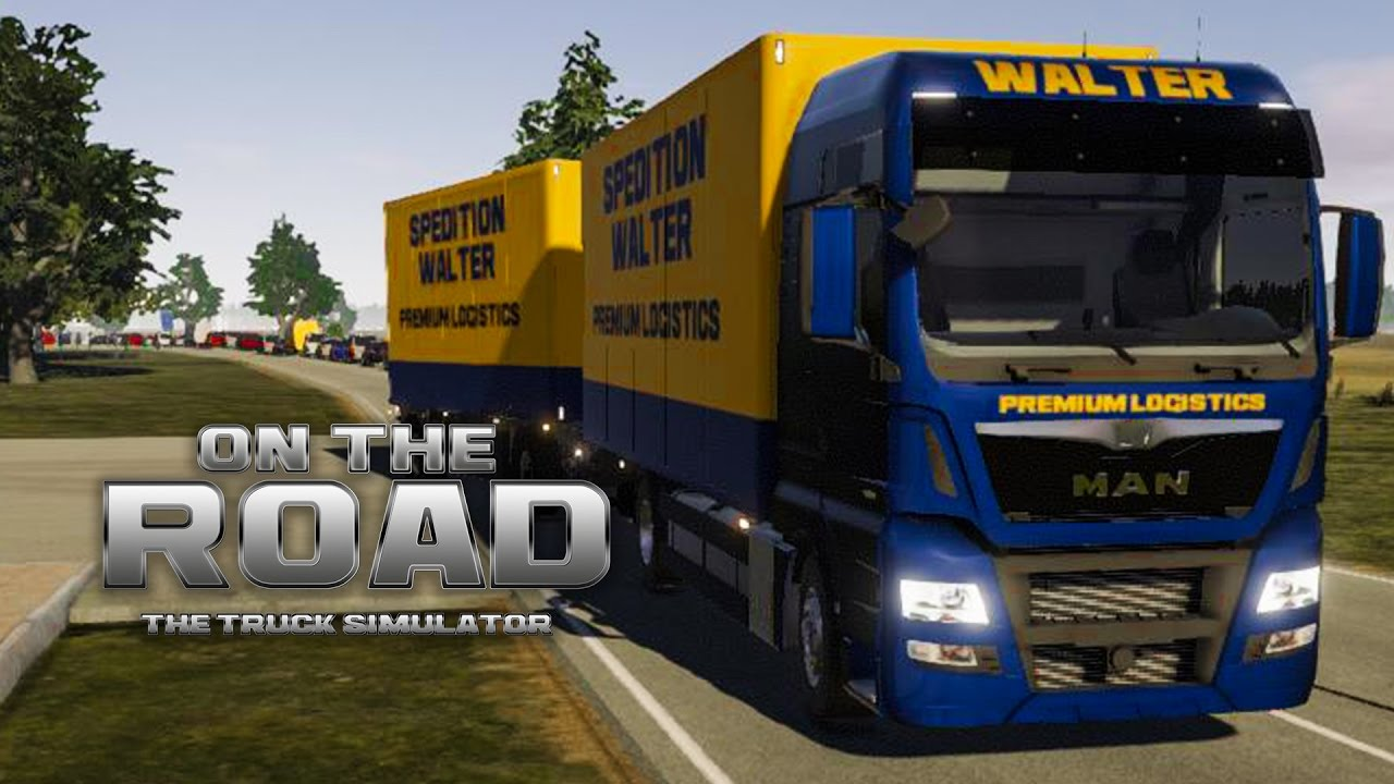 on the road truck simulator 5 auftrag beenden in. Black Bedroom Furniture Sets. Home Design Ideas