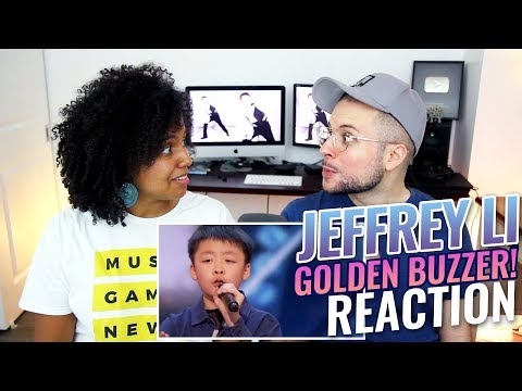 Jeffrey Li - You Raise Me Up | America's Got Talent 2018 | REACTION