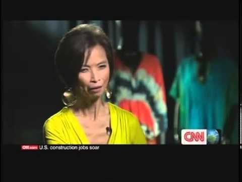 Josie Natori CNN International Talk Asia Interview with Monita Rajpal