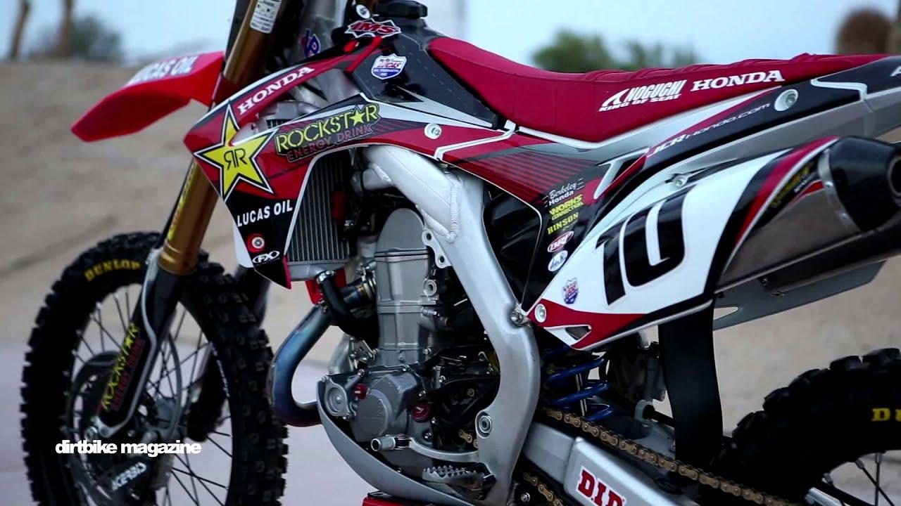 Honda Motocross Bikes