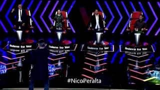 La Melodía - Nicolás Peralta (cover) - Joey Montana / La Voz Ecuador 2T