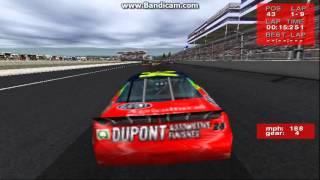 NASCAR Revolution (PC) Race #9 Gameplay (Jeff Gordon) (Atlanta) (9 Laps)