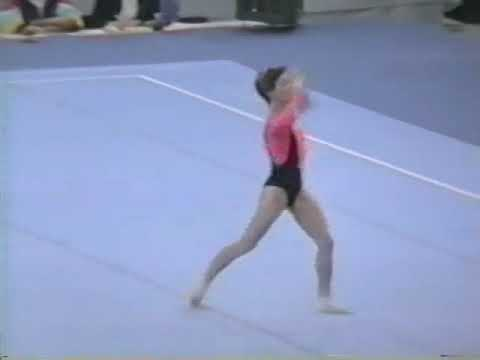 1989 World Gymnastics Championships - Women's Individual All-Around Final, Part 1 (SI HV)