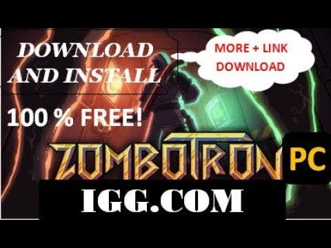 100% FREE !!! Download & Install Zombotron PC In IGG GAMES More Download Link !