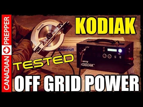 Kodiak Off Grid Power Generator: How Powerful is it?