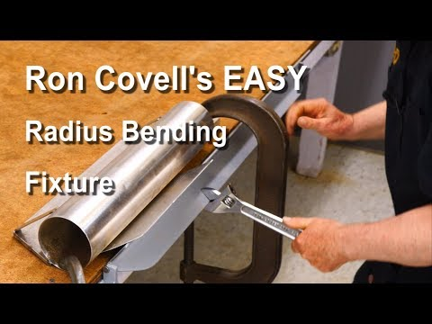 Making a Radius Bending Fixture for Sheetmetal
