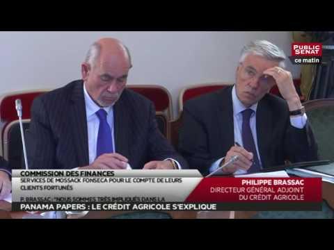 Auditions Crédit agricole et BNP Paribas - Les matins du Sénat (25/05/2016)