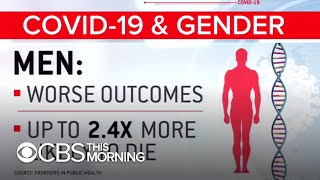 COVID-19 gender gap: Study shows men are more than twice as likely to die