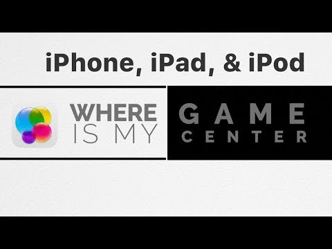 Where Is My Iphone S Game Center App Youtube