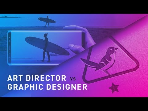 Difference Between An Art Director & Graphic Designer