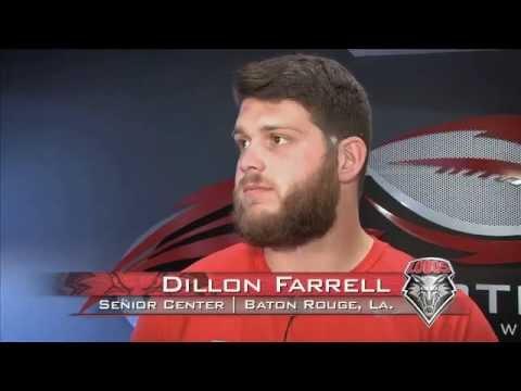 2013 Lobo Football   Team Captain Press Conference: Dillon Farrell