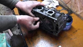 ''ГТ'' Ремонт ДВС (Косметический) Опель Аскона 1.6 двиг-16SH Часть1- разборка.